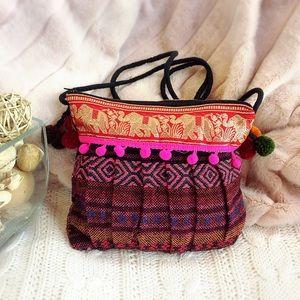 Handbags - 🐘 BOHO Elephant Pattern Shoulder Bag 🐘